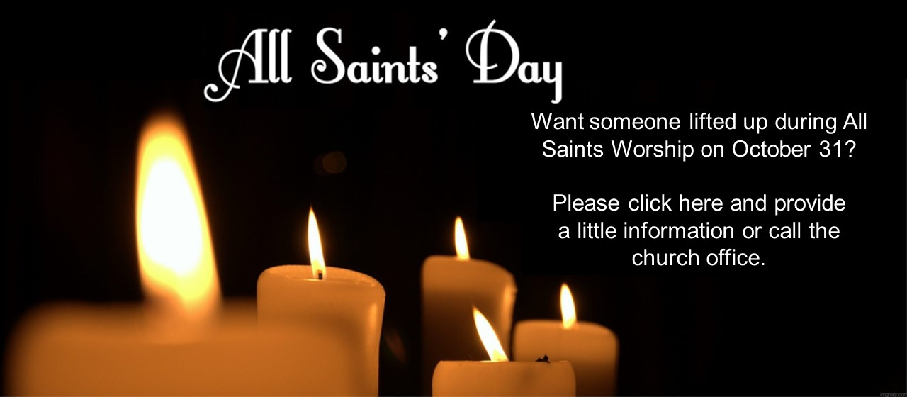 All Saints Day Form