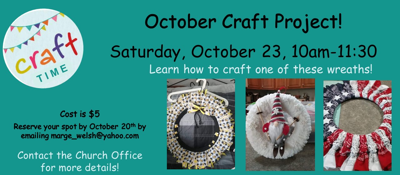 Crafting in October