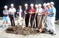 Ground Breaking June 29, 2003