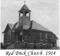 Red Brick Church 1914