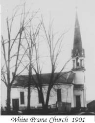White Frame Church 1901